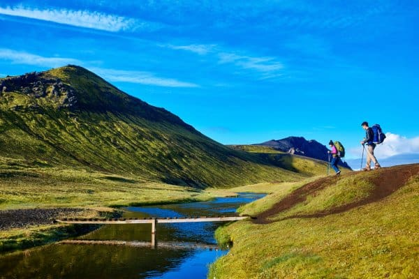 Open All Year Campsites in Iceland