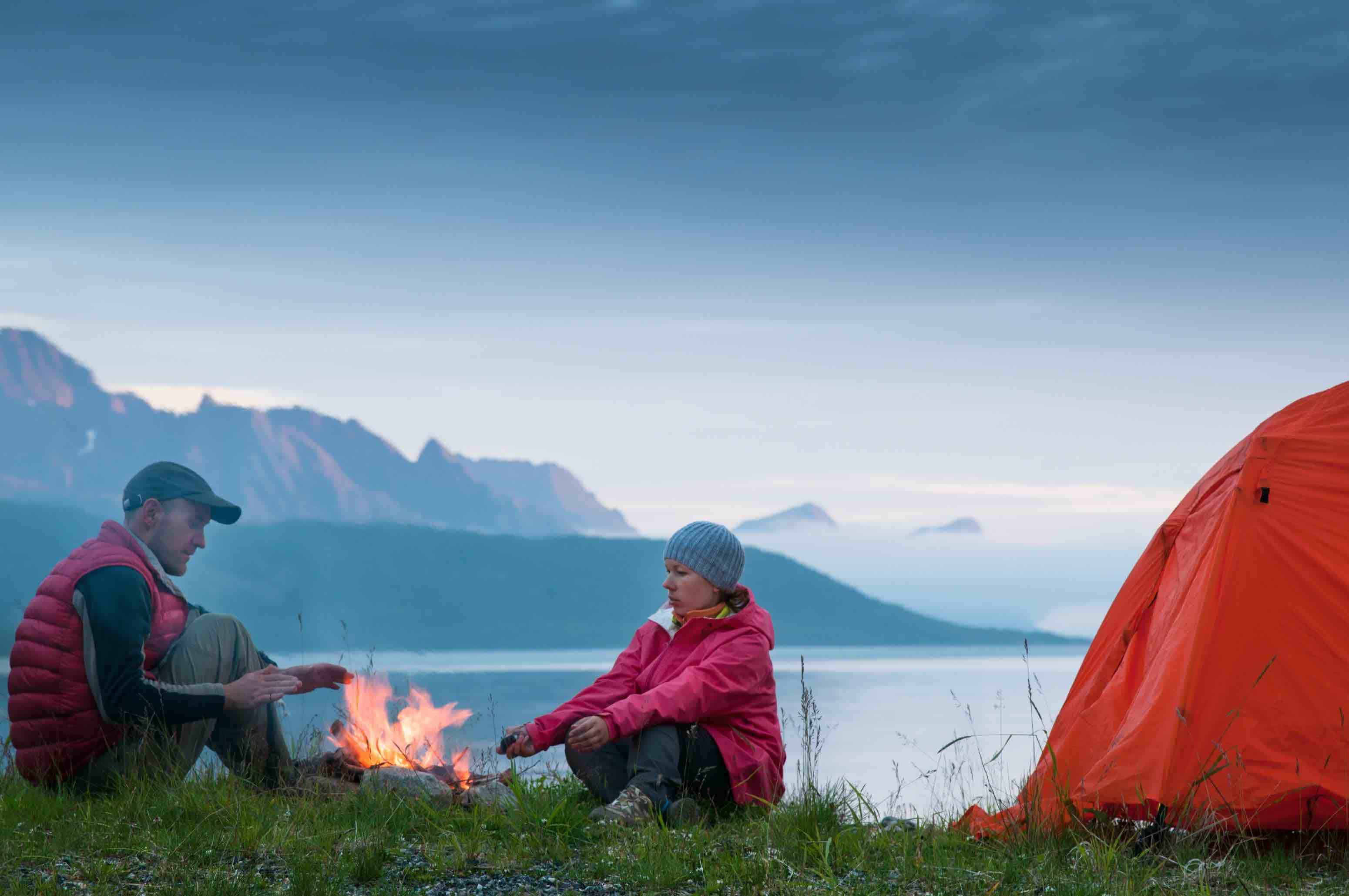 why you should go camping in iceland in october
