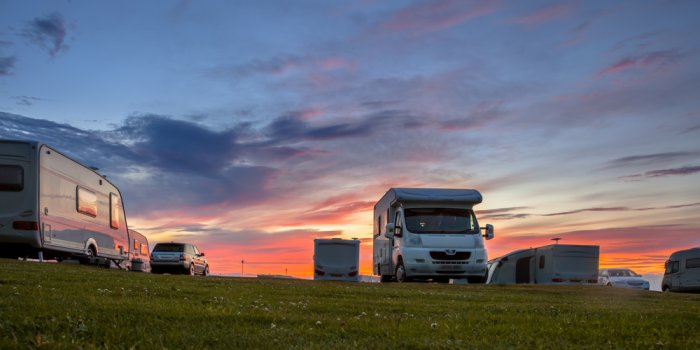 Camping Adventure In Iceland