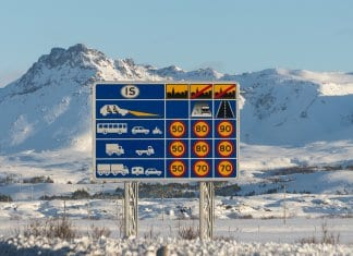 Road Rules in Iceland