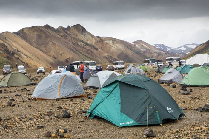 Camping In Iceland In September