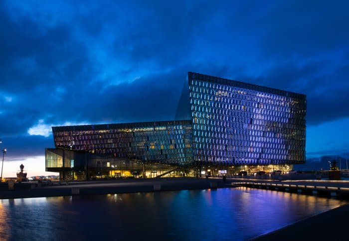 Harpa concert hall is included in our guide to Reykjavik