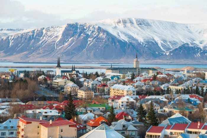 Guide to Reykjavik, panoramic view of the city