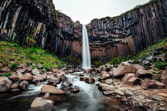Iceland's Svartifoss waterfall is perfect for Instagram