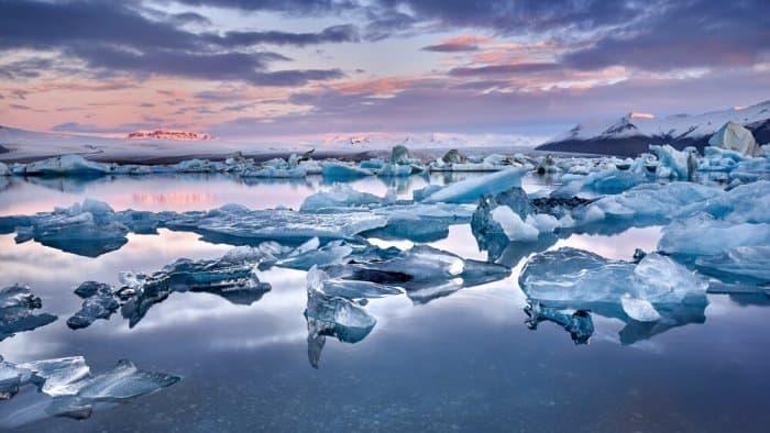 Iceland's Jókulsárlón Glacier Lagoon is a popular attraction for tourists
