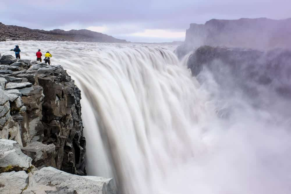 Dettifoss waterfall is one of the most impressive one in this 7-Day Ring Road Itinerary