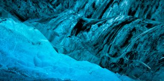 Vatnajökull National Park is home to Europe's largest glacier and spectacular ice caves and glacier caves