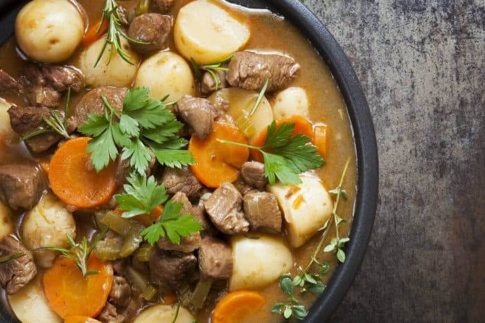 A heart lamb stew will warm you up during fall and winter in Iceland