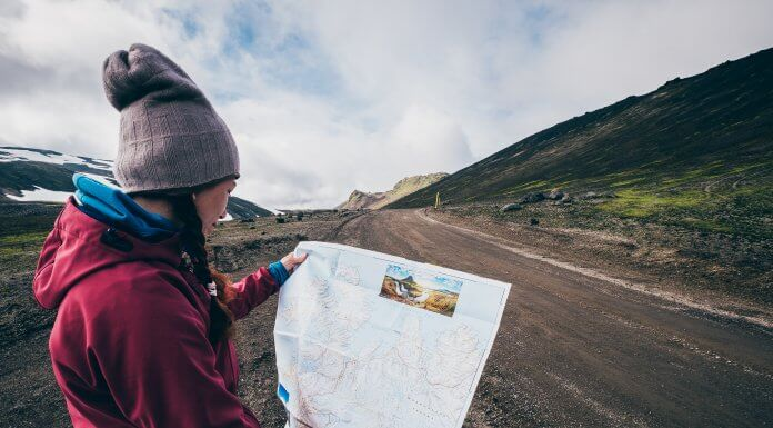 girl with a map for hr 7-Day Ring Road Itinerary