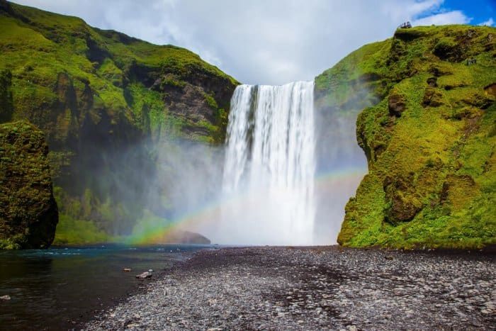 Skogafoss, one of the best waterfalls in Iceland