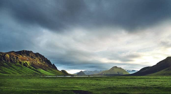 Can I camp anywhere in Iceland?