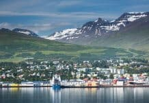24 hours in Akureyri, North Iceland