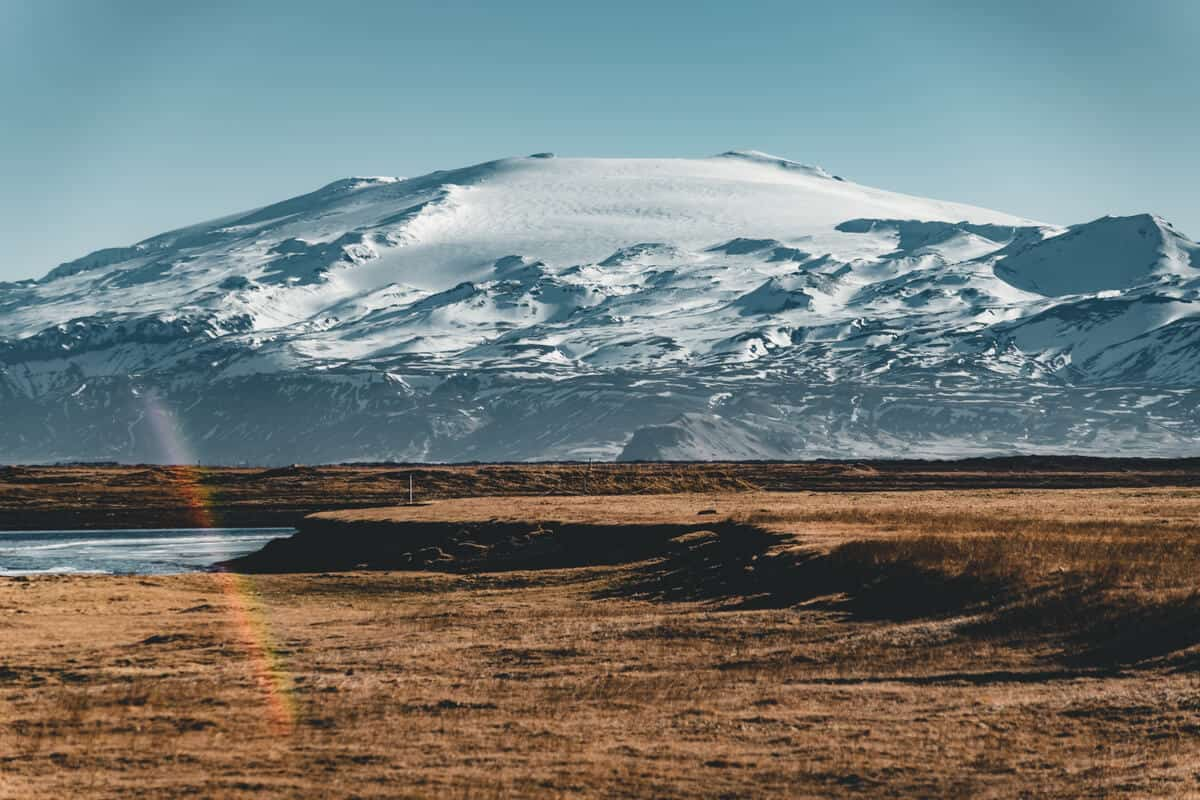 Beautiful landscapes like this are reason to visit Iceland during the off-season.
