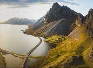 Iceland fjords are a beautiful natural wonder