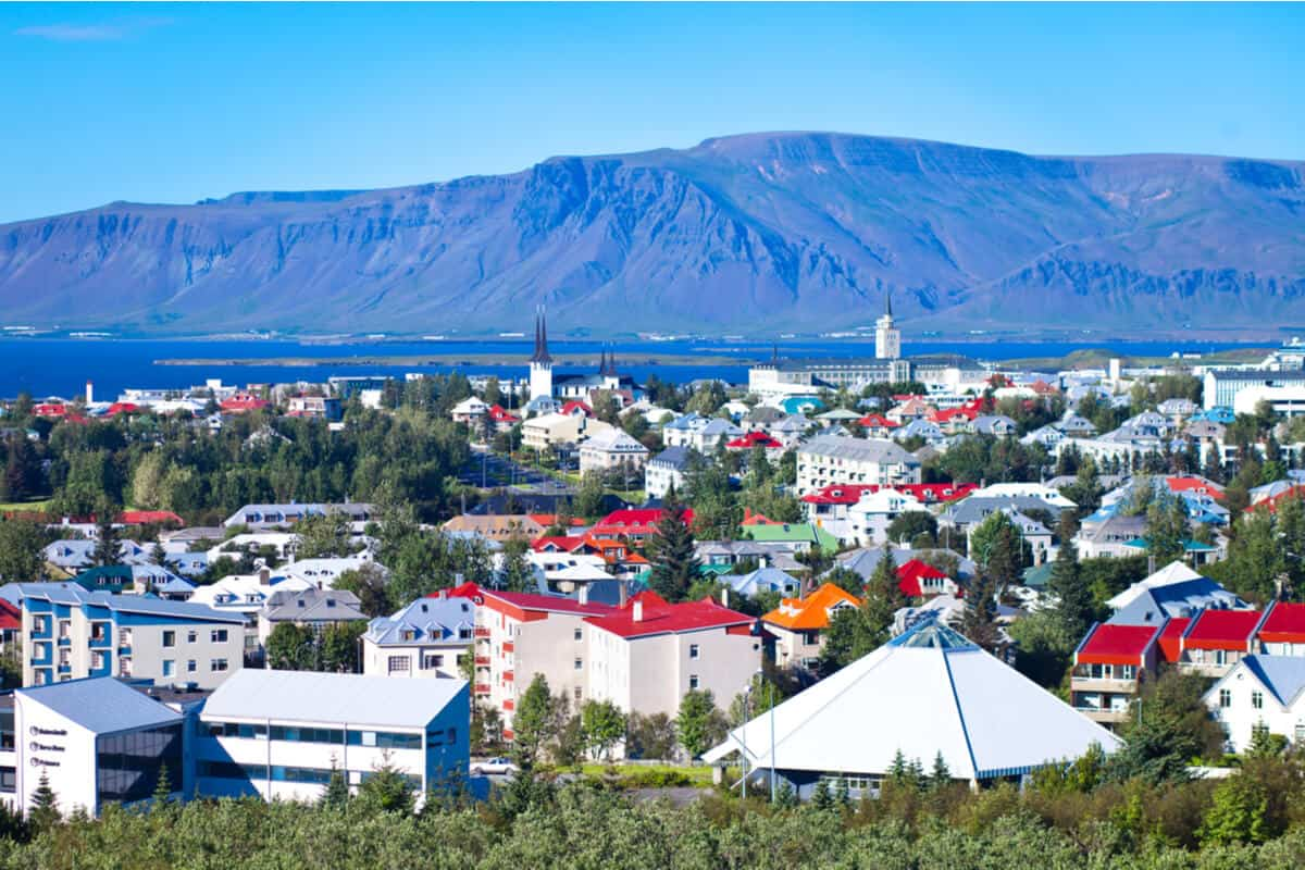 Reyjavik is one of Iceland's major towns and cities