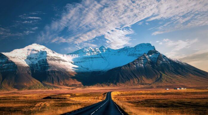 The Ring Road is a scenic route in Iceland