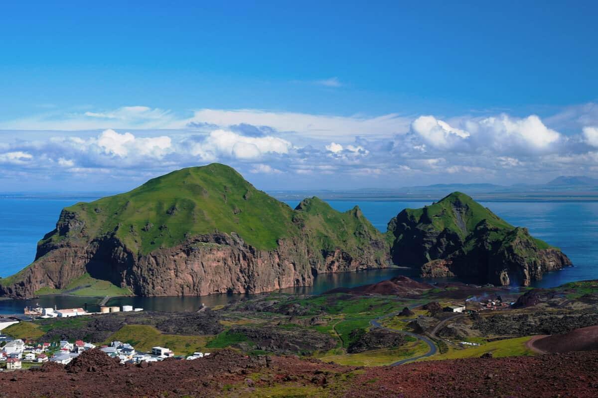 Elephant Rock Iceland on Heimaey Island