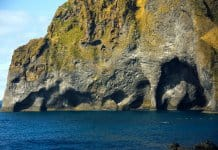 Elephant Rock Iceland in the Westman Islands