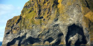 Elephant Rock Iceland in the Westman Islands