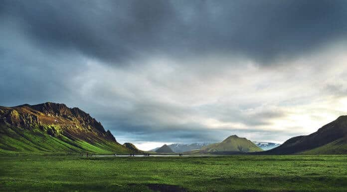 Iceland camping law