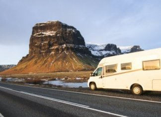 Camping In Iceland In April