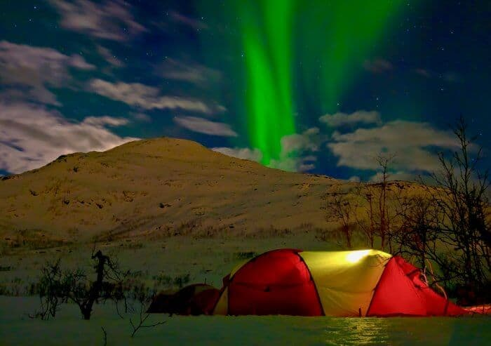 Camping In Iceland In Iceland