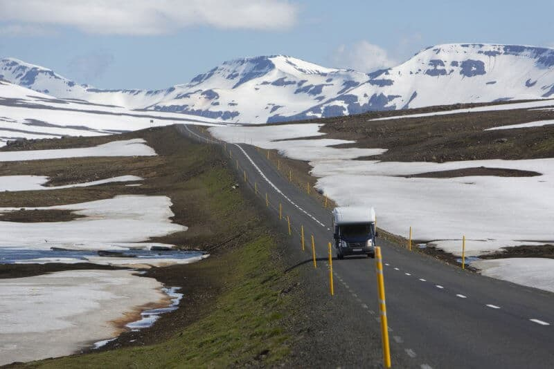 Water Disaposal For Motorhome In Iceland
