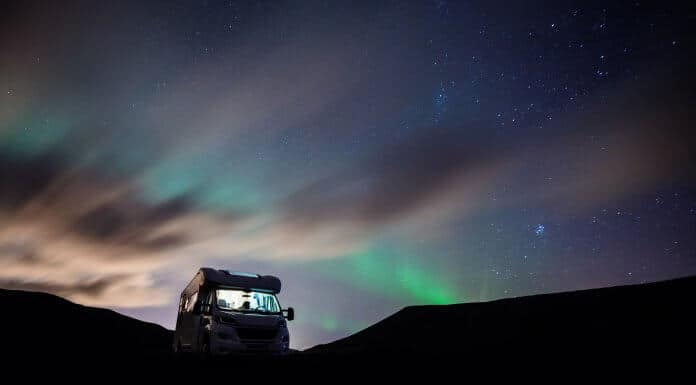 Driving a Motorhome in Iceland