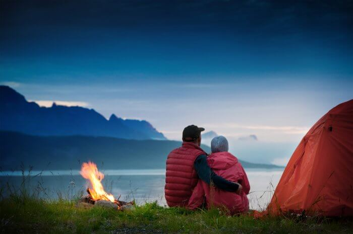 Camping In Iceland In May