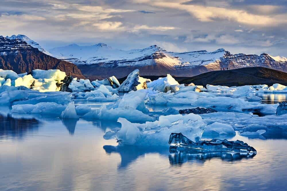 Jokulsarlon glacier lagoon is one of the best photography locations in Iceland