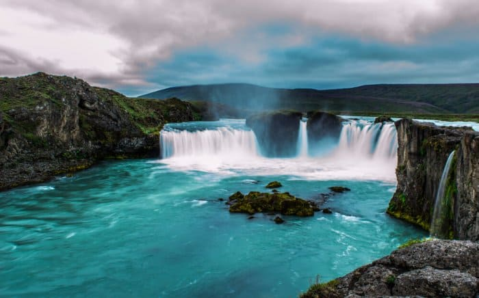 Godafoss is one of Iceland's best waterfalls
