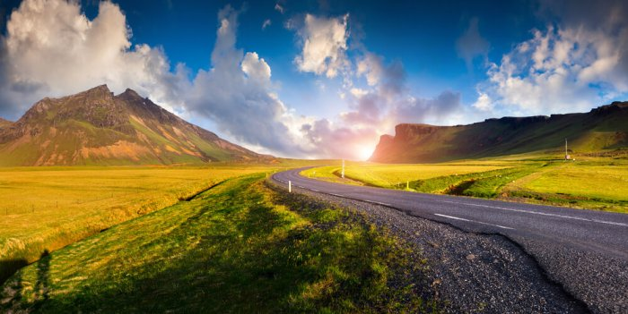 Taking a road trip in Iceland with a motorhome or campervan rental