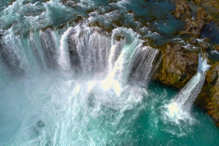 Godafoss is related to Iceland's conversion to Christianity