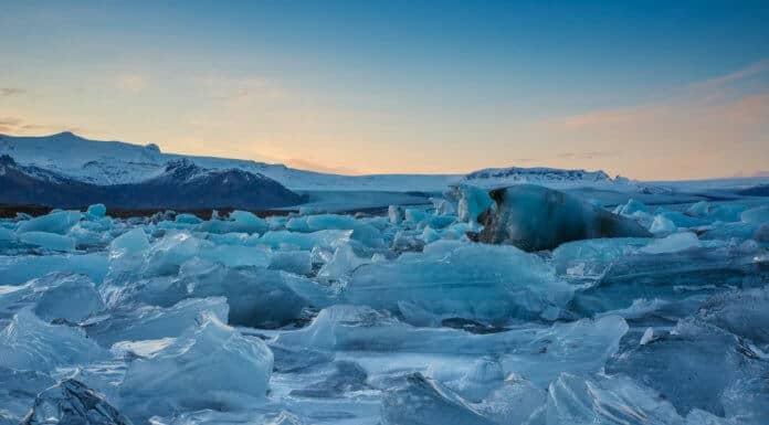 The icebergs at Jókulsárlón are otherworldly