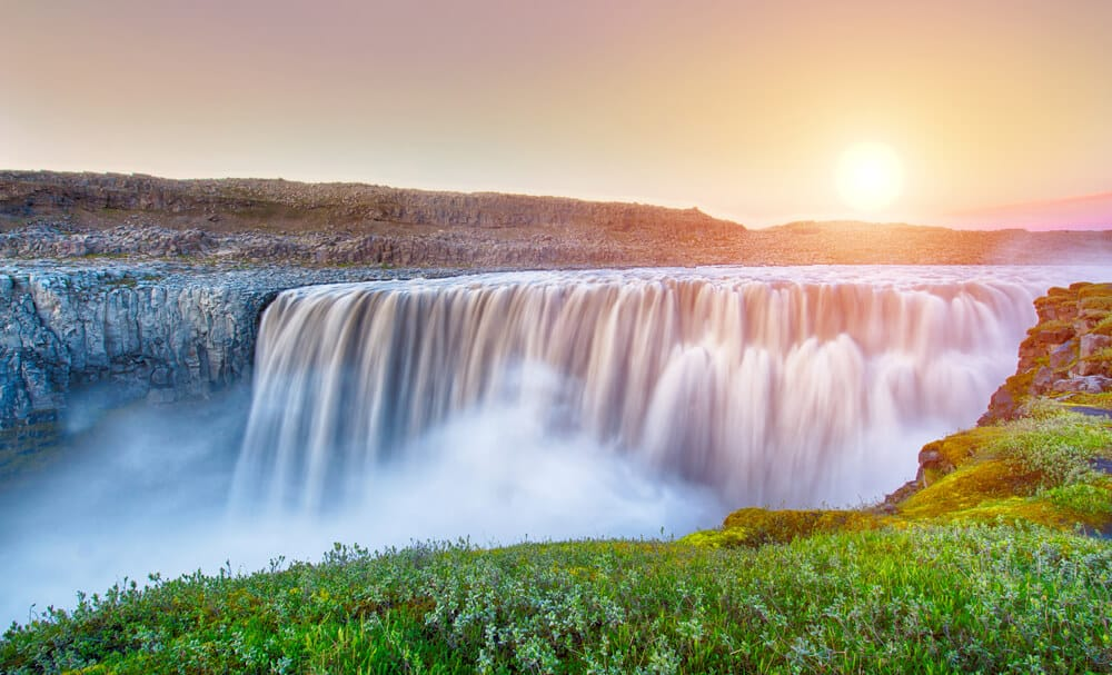 Dettifoss is both powerful and beautiful