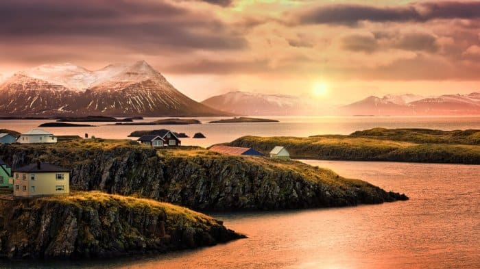 Stykkisholmur in western Iceland is a beautiful place to stop