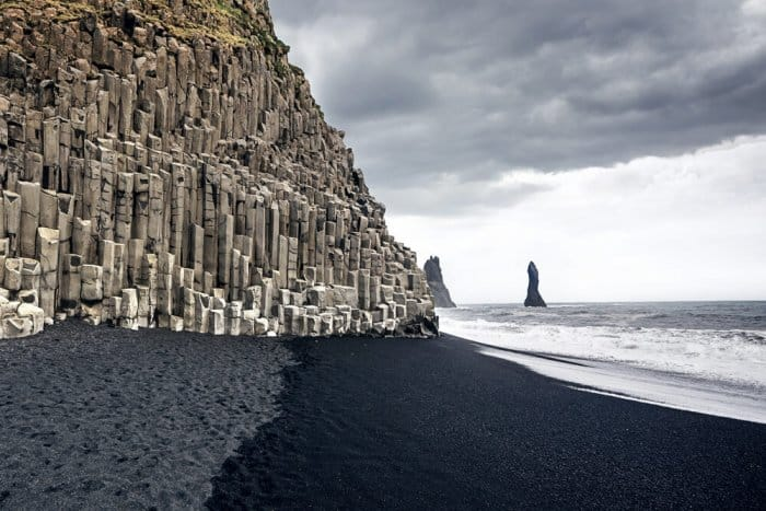 Vík black beaches in our 7-Day Ring Road Itinerary