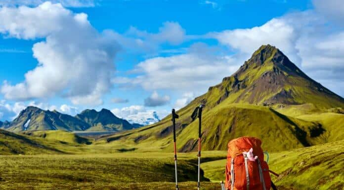 The are lots of hiking trails in Landmannalaugar besides Laugavegur