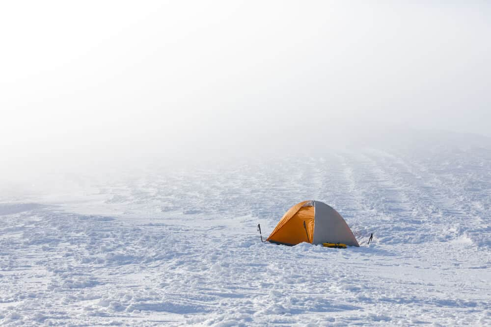 Is it crazy to camp in Iceland in the winter?