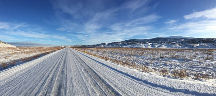 Iceland's snowy weather and road conditions make car rental insurance necessary.