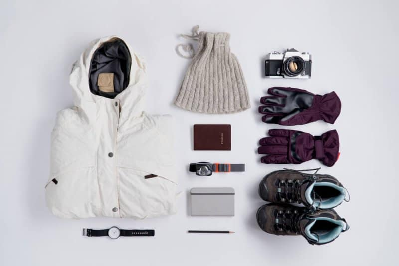 Warm clothes to pack for November camping in Iceland