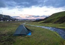 What is the best tent for camping in Iceland?