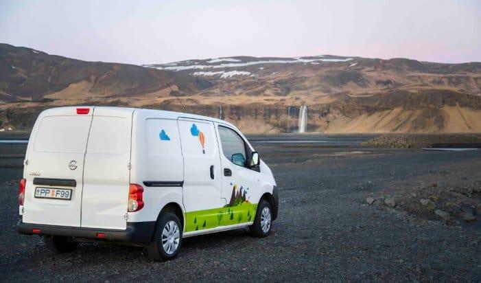 A Campervan Iceland Play model campervan