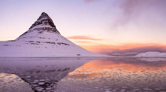 Iceland's weather in January is cold and snowy with low temperatures