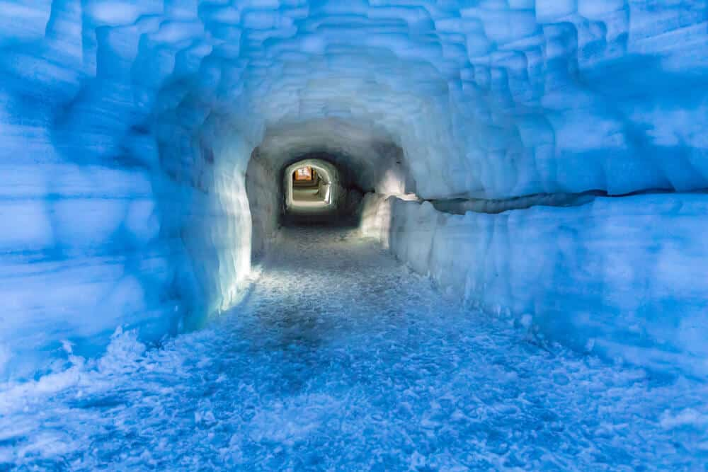Glacier hikes, ice caves and glacier caves are great winter activities in Iceland