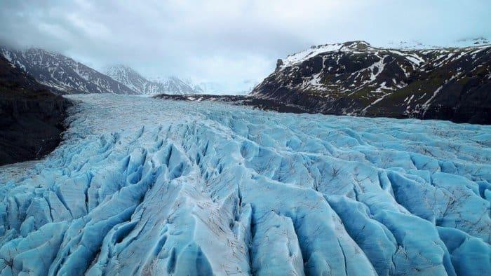 Hiking on the glacier is a popular activity in Vatnajökull National Park
