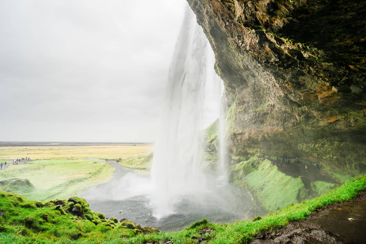 Famous landmarks like Seljalandsfoss are less crowded during Iceland's low season