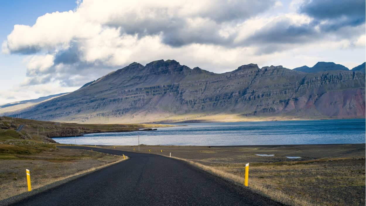 Stretch of Iceland's Ring Road