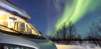 Iceland Northern Lights tour by campervan
