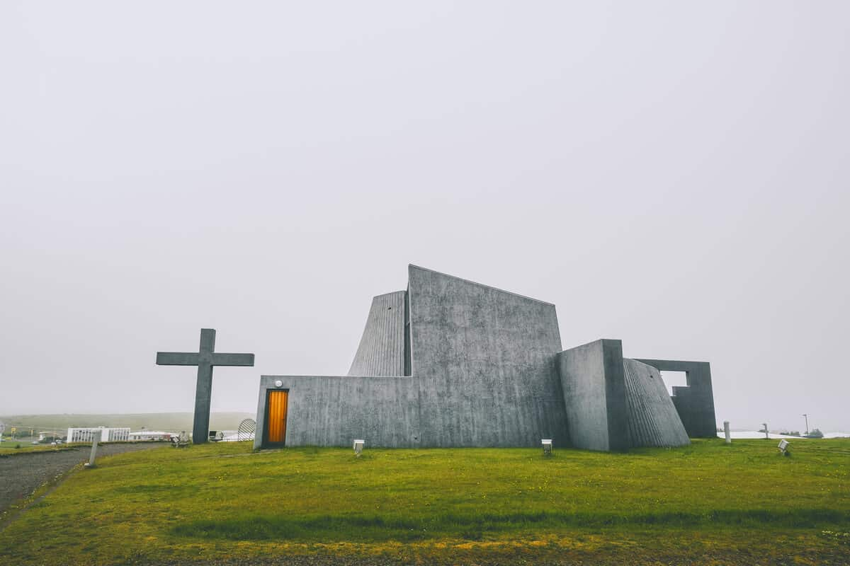 Of Iceland's prettiest churches, Blonduos is the most futuristic